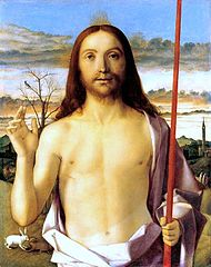 190px-'Christ_Blessing',_tempera,_oil,_and_gold_on_panel_by_Giovanni_Bellini,_c._1500,_Kimbell_Art_Museum